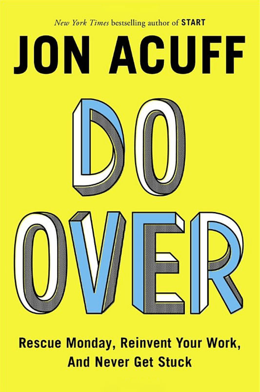 15-Do Over, Yazar: Jon Acuff