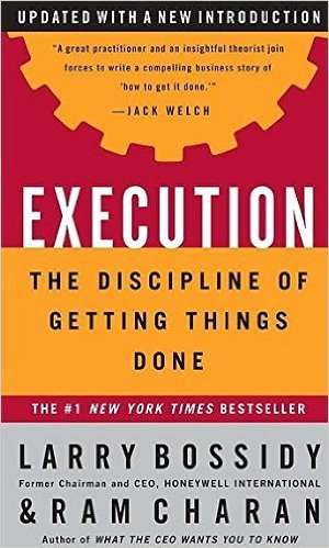 9-Execution, Yazarlar: Larry Bossidy and Ram Charan